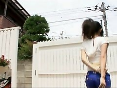 Playing smutty with sexy Yui Komine