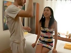 Skinny Oriental Massaged and Fucked