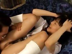 Petite jock smoking from Japan