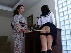 Japanese Spanking 4