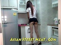 Oriental Sweety Sodomised In Nylons And Stocks