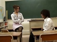 Oriental Teacher Seduced By Her Student,By Blondelover.