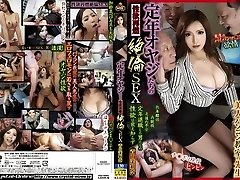Most Excellent Japanese slut Marina Aoyama in Crazy cunnilingus, gangbang JAV video