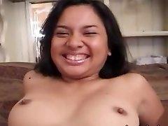 Ugly amateur oriental girl banged hard