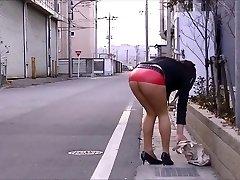 Japanese Hose Public Exhibitionism Upskirt