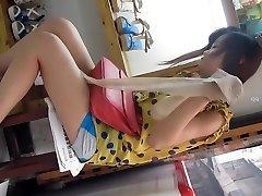 Chinese girl upskirt part Two