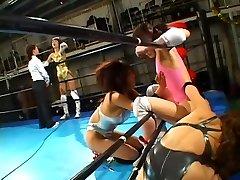 Cat Fight Assfucking Pro Wrestling