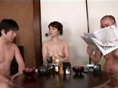 Japanese Mother blackmailed by Step Sonny 2