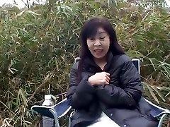 50yr senior Grannie Satoko Tabata Creampied (Uncensored)