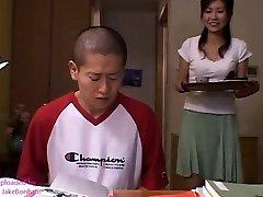Japanese mom Risa Sakamoto and Step Sonnie 2 (MrBonham)