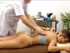 Spycam asian massage