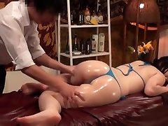 Slimming Massage for Busty Japanese Wives - 2