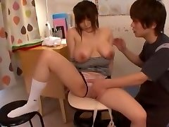 Best Chinese cockslut Yui Serizawa in Crazy Cunnilingus, Babysitters JAV clip