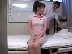 Nude Asian girl sprayed in hidden camera massage video