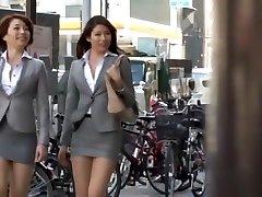 Horny Japanese model Azusa Maki, Kaede Imamura, Makina Kataoka in Hottest Compilation, Voyeur JAV video