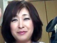 Asian Chubby Mature Internal Cumshot Sayo Akagi 51years