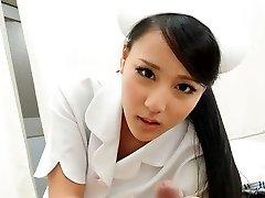 Torrid Nurse Ren Azumi Drilled By Patient - JapanHDV