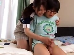 1 Family no1 Mom teaches her son about masturbation -