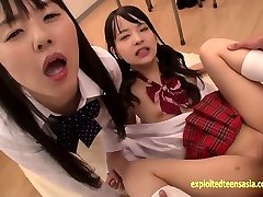 Abe Mikako Does Deep Rimming Shares Slurping Spunk With Friend