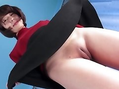 Hot Japanese Labia Camel-toe Closed-up