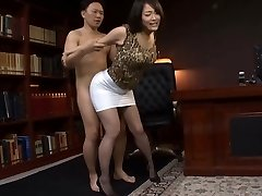 Japanese Office Fuckslut Fucked Hard