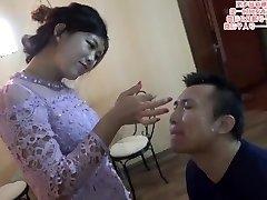 Japanese femdom spit on face