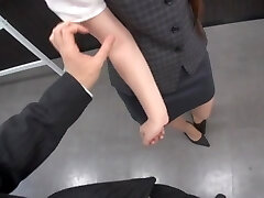 Naughty Office Shag With Riona Minami In Glasses