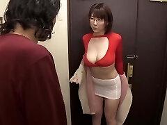 Ample tits wearing glasses Matsumoto Nanami