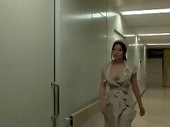 Incredible Japanese chick Yuna Shiina in Amazing Nurse, Enormous Bra-stuffers JAV scene