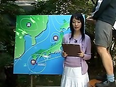Name of Japanese JAV Female News Anchor?