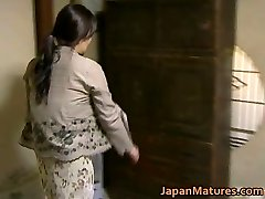 Japanese MILF has eager sex free jav