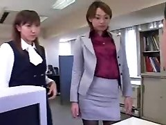 CFNM - Femdom - Humiliation - Japanese Beauties in Office
