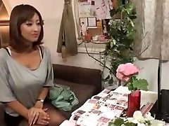 Concupiscent Japanese Wife Massaged and then Fucked