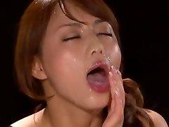 Astounding Japanese model Akiho Yoshizawa in Fabulous POV, Facial JAV scene