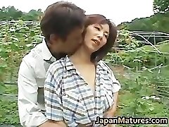 Chisato Shouda Oriental aged chick gets part3