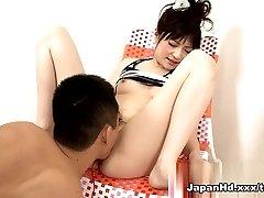 Astounding pornstar Rika Sonohara in Hottest Fingering, Dildos/Toys adult movie