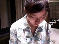Adorable oriental girl gets filmed by voyeurs