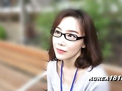 KOREA1818.COM - korean Girl in glasses