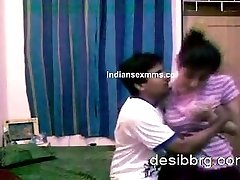 Desi College lovers Naked at Home Recroding Se