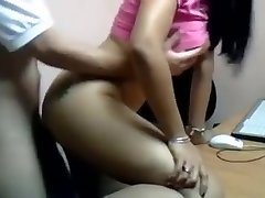 Desi Angel Poked By Manager In Office