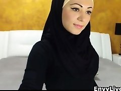 Beautiful Arab Girl Undresses And Milks