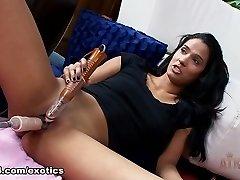 Hottest pornstar Karmen Bella in Incredible Dildos/Toys, Solo Girl adult movie