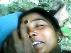 Indian Couple Having Hook-up Outdoors