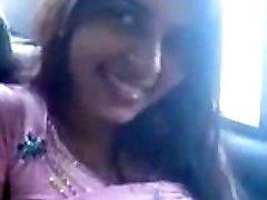 Desi Payal Sharma Big Boobs bachi Cock Gargle Blowjob in Car