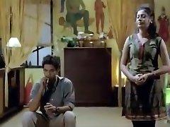3床上孟加拉热电影短片热的场景