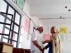 Desi principal fuck teacher in class apartment MMS paki elderly fat