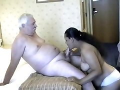 Daddy with indian babes