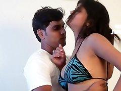Desperate Wife Secrete Romance with Office Colleague Warm Intimate Scene