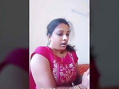 Dubmash Tamil by Tamil Aunty with flashing cupcakes