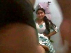 Hot Indian housewife pummeled by neighbor www.peehu.in